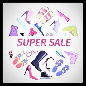 Shoes - Shoe sale!! 10% off 1 pair.. 20% off of 2 pairs 💙